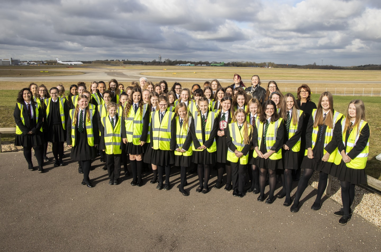 Stansted marks 'Women and Girls in Science' day with networking event for local children